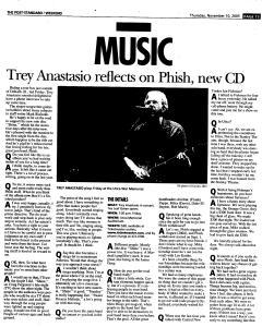 Syracuse Post Standard, November 10, 2005, Page 67
