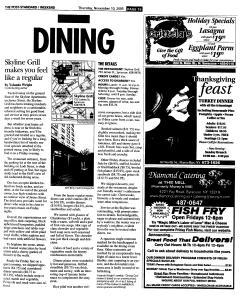 Syracuse Post Standard, November 10, 2005, Page 73