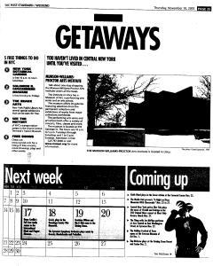 Syracuse Post Standard, November 10, 2005, Page 89