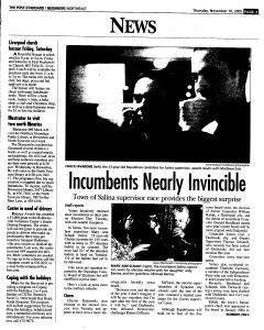 Syracuse Post Standard, November 10, 2005, Page 129
