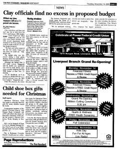 Syracuse Post Standard, November 10, 2005, Page 133