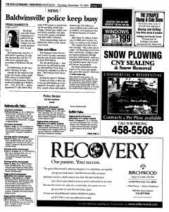 Syracuse Post Standard, November 10, 2005, Page 137