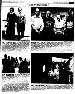 Syracuse Post Standard, November 10, 2005, Page 148