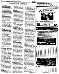Syracuse Post Standard, November 10, 2005, Page 154