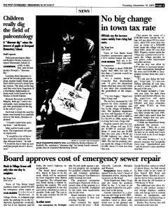 Syracuse Post Standard, November 10, 2005, Page 166