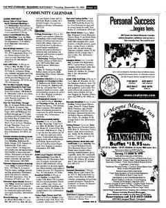 Syracuse Post Standard, November 10, 2005, Page 189