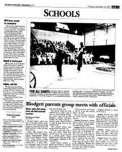 Syracuse Post Standard, November 10, 2005, Page 207