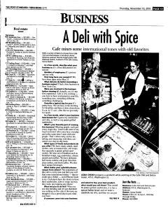 Syracuse Post Standard, November 10, 2005, Page 209