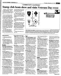 Syracuse Post Standard, November 10, 2005, Page 215