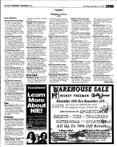 Syracuse Post Standard, November 10, 2005, Page 221