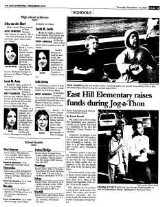 Syracuse Post Standard, November 10, 2005, Page 243
