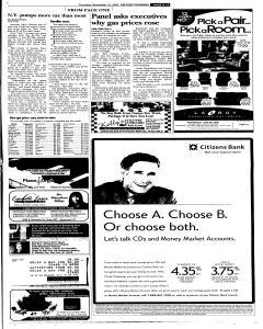 Syracuse Post Standard, November 10, 2005, Page 293