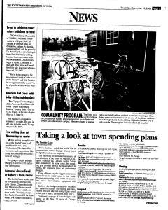 Syracuse Post Standard, November 10, 2005, Page 329