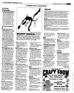 Syracuse Post Standard, November 10, 2005, Page 335