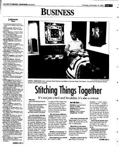 Syracuse Post Standard, November 10, 2005, Page 341