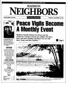 Syracuse Post Standard, November 10, 2005, Page 343