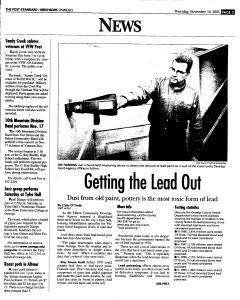 Syracuse Post Standard, November 10, 2005, Page 361