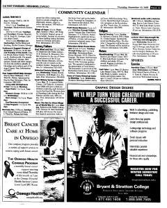 Syracuse Post Standard, November 10, 2005, Page 381