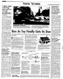 Syracuse Post Standard, November 12, 2005, Page 6