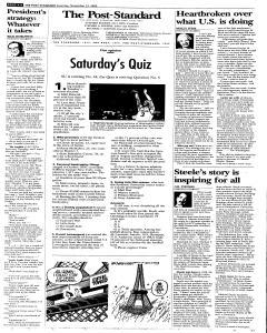 Syracuse Post Standard, November 12, 2005, Page 8