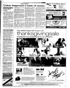 Syracuse Post Standard, November 22, 2005, Page 7