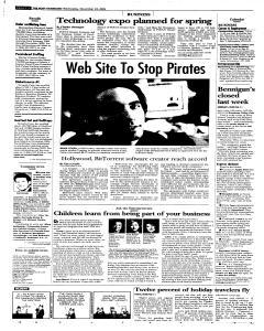 Syracuse Post Standard, November 23, 2005, Page 22