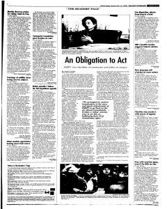 Syracuse Post Standard, November 23, 2005, Page 13