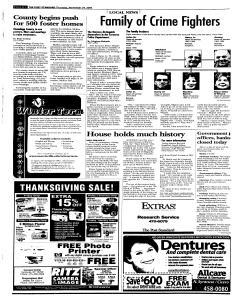 Syracuse Post Standard, November 24, 2005, Page 26