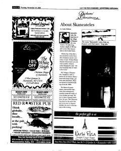Syracuse Post Standard, November 24, 2005, Page 122