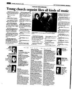 Syracuse Post Standard, November 24, 2005, Page 265