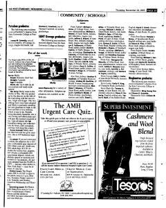 Syracuse Post Standard, November 24, 2005, Page 380