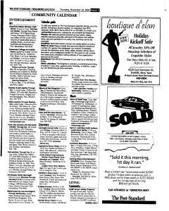 Syracuse Post Standard, November 24, 2005, Page 388