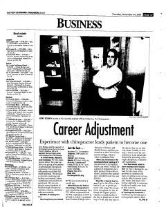 Syracuse Post Standard, November 24, 2005, Page 132