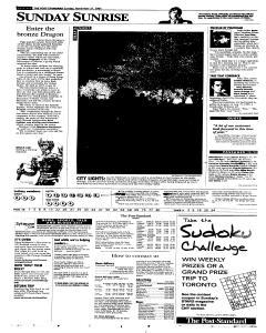Syracuse Post Standard, November 27, 2005, Page 2