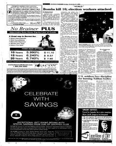 Syracuse Post Standard, November 27, 2005, Page 8