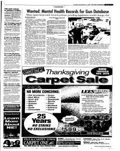 Syracuse Post Standard, November 27, 2005, Page 17