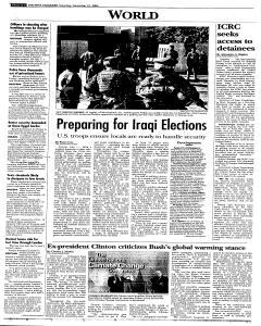 Syracuse Post Standard, December 10, 2005, Page 6