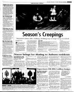 Syracuse Post Standard, December 10, 2005, Page 19