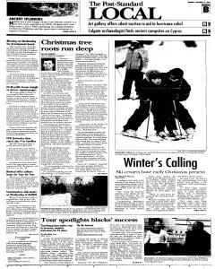 Syracuse Post Standard, December 12, 2005, Page 10