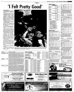 Syracuse Post Standard, December 12, 2005, Page 20