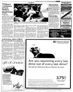 Syracuse Post Standard, December 13, 2005, Page 5