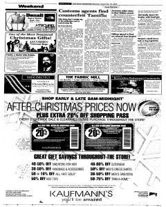 Syracuse Post Standard, December 19, 2005, Page 12