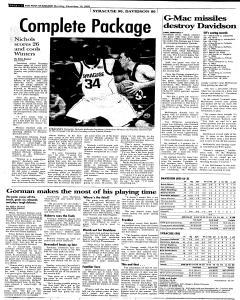 Syracuse Post Standard, December 19, 2005, Page 22