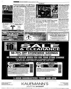 Syracuse Post Standard, December 27, 2005, Page 11