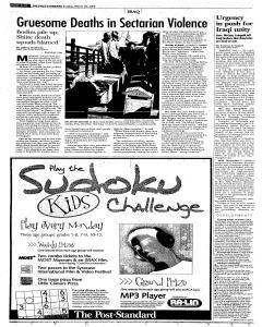 Syracuse Post Standard, March 26, 2006, Page 10