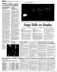 Syracuse Post Standard, March 26, 2006, Page 24