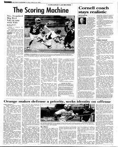 Syracuse Post Standard, March 26, 2006, Page 38