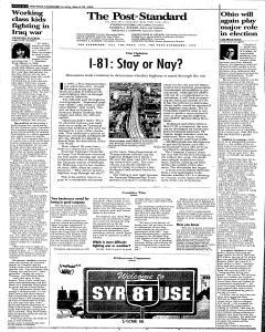 Syracuse Post Standard, March 26, 2006, Page 48