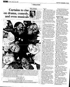 Syracuse Post Standard, March 26, 2006, Page 123