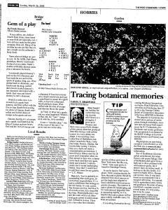 Syracuse Post Standard, March 26, 2006, Page 138